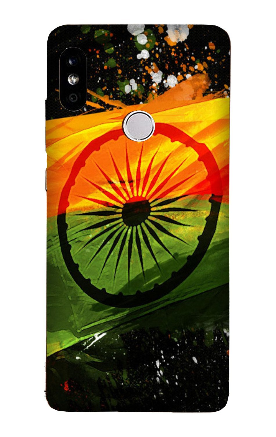 Indian Flag Case for Xiaomi Redmi Y3  (Design - 137)