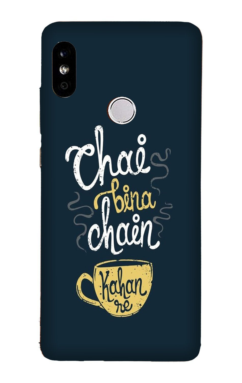 Chai Bina Chain Kahan Case for Xiaomi Redmi Y3  (Design - 144)