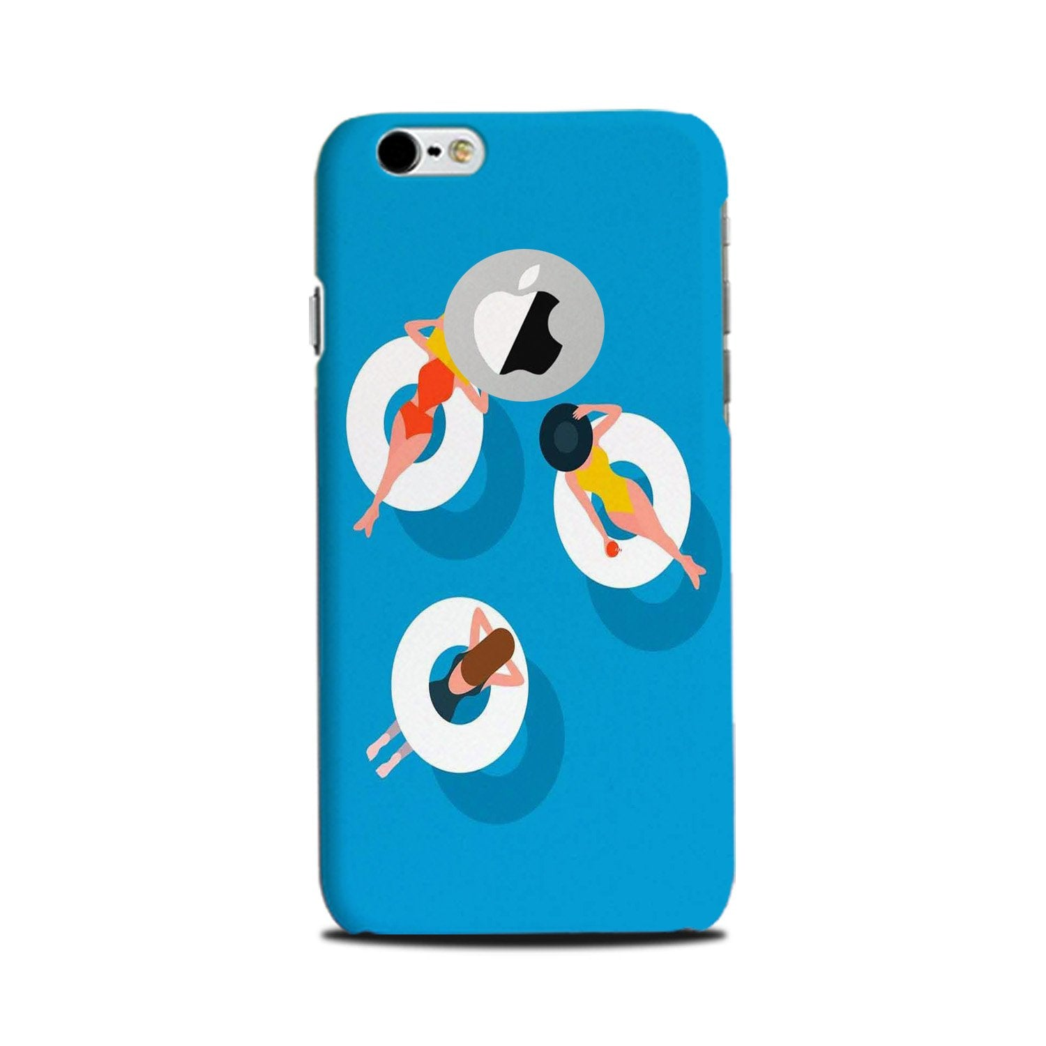 Girlish Mobile Back Case for iPhone 6 Plus / 6s Plus Logo Cut  (Design - 306)