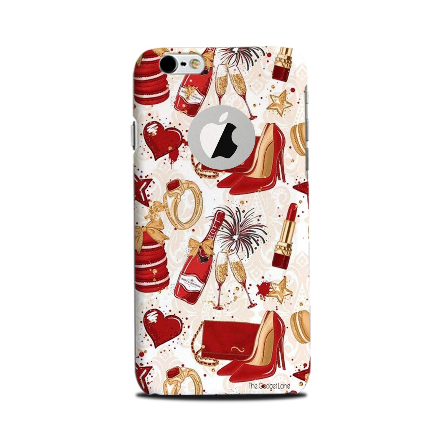 Girlish Mobile Back Case for iPhone 6 Plus / 6s Plus Logo Cut  (Design - 312)