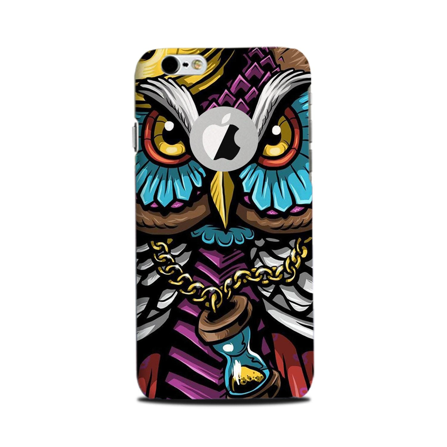 Owl Mobile Back Case for iPhone 6 Plus / 6s Plus Logo Cut  (Design - 359)
