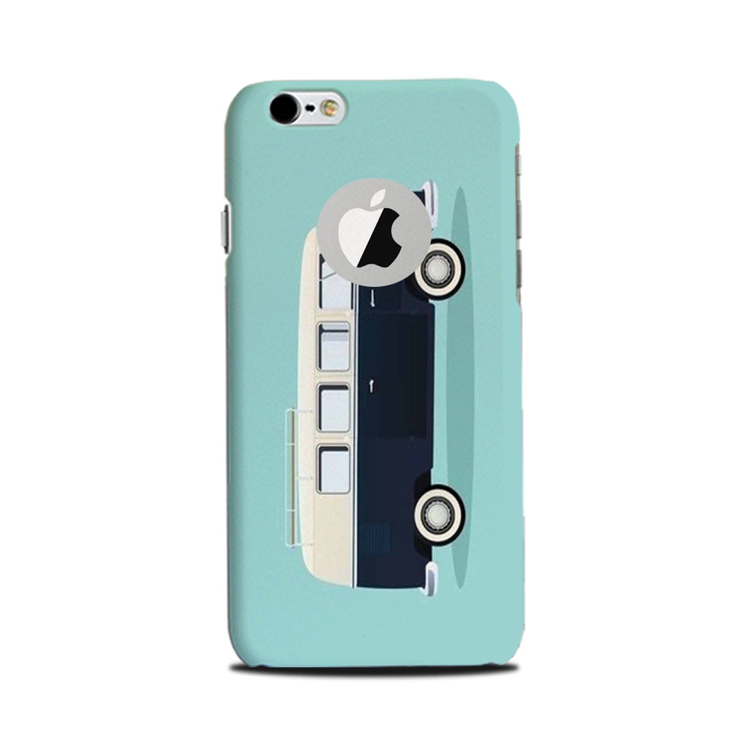 Travel Bus Mobile Back Case for iPhone 6 Plus / 6s Plus Logo Cut  (Design - 379)