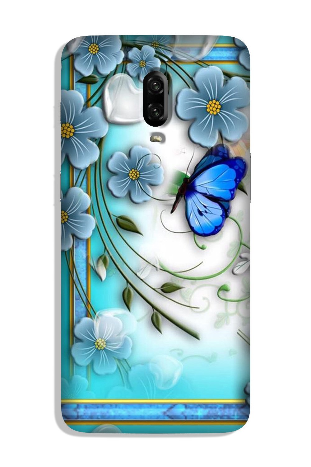 Blue Butterfly Case for OnePlus 6T