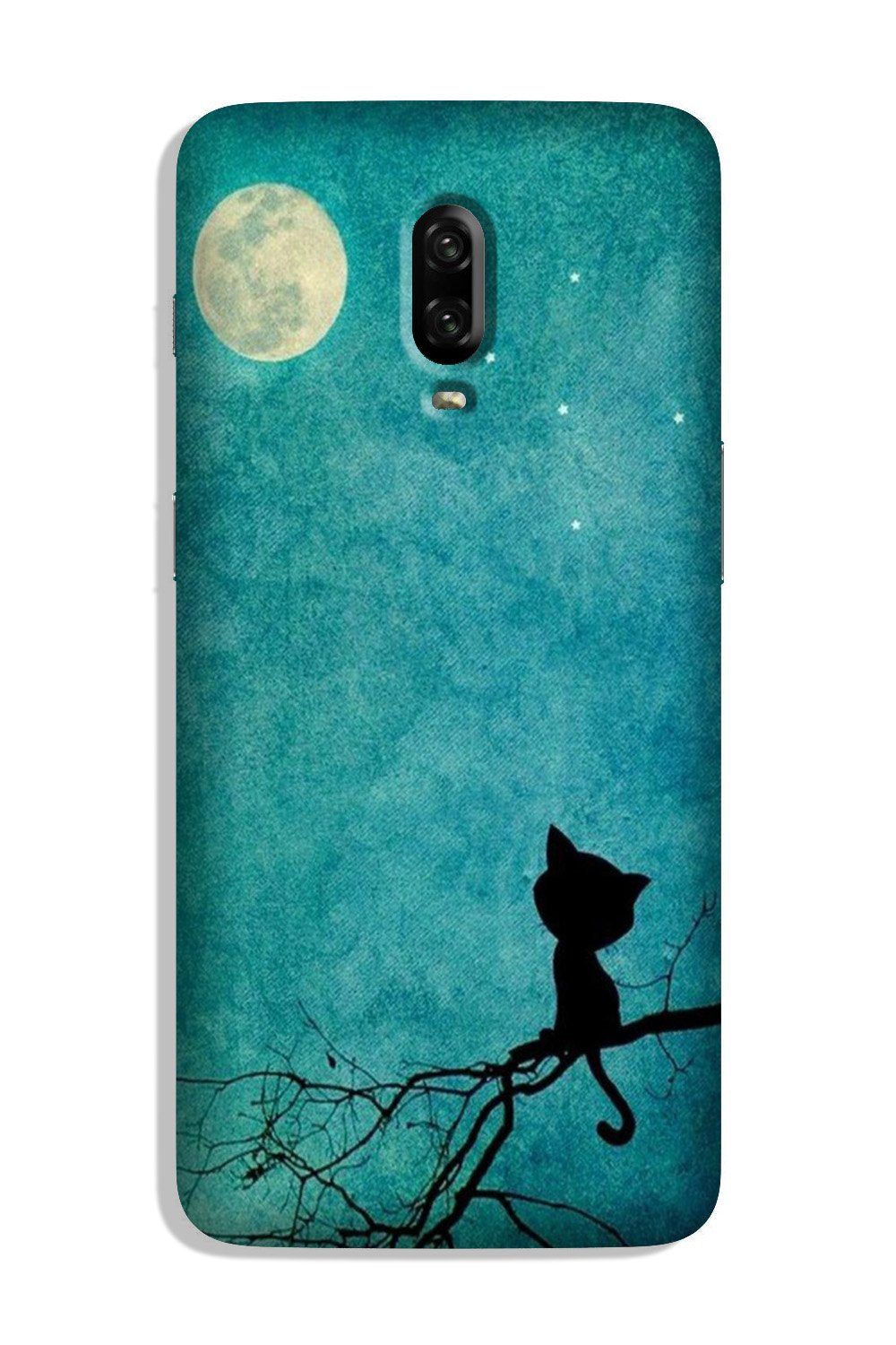 Moon cat Case for OnePlus 6T