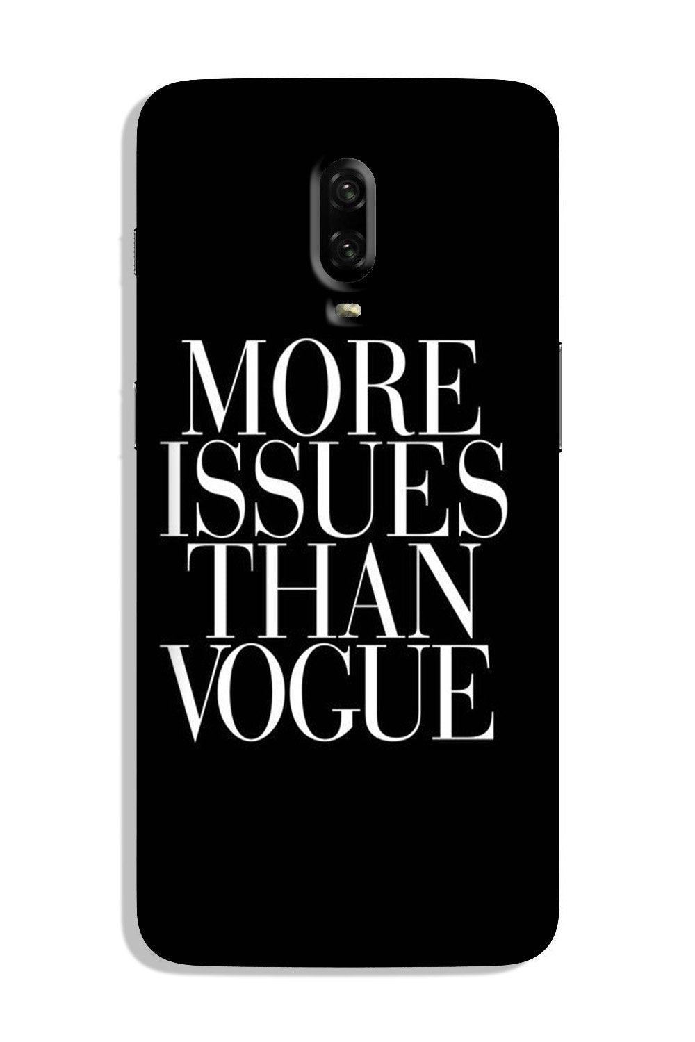 More Issues than Vague Case for OnePlus 6T
