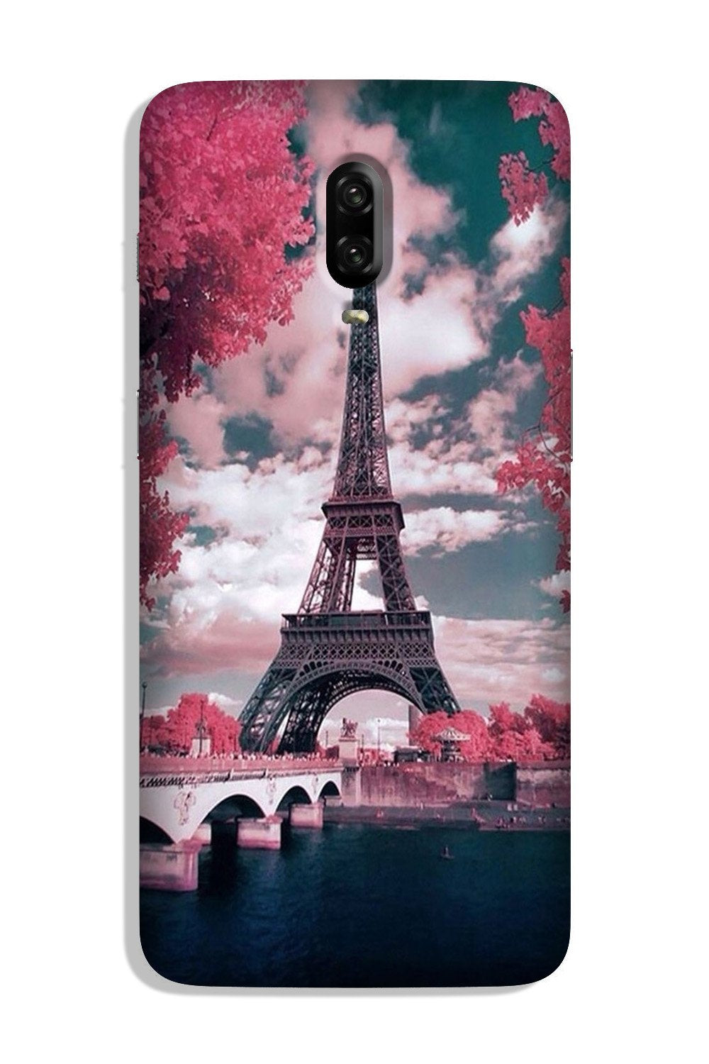 Eiffel Tower Case for OnePlus 6T  (Design - 101)