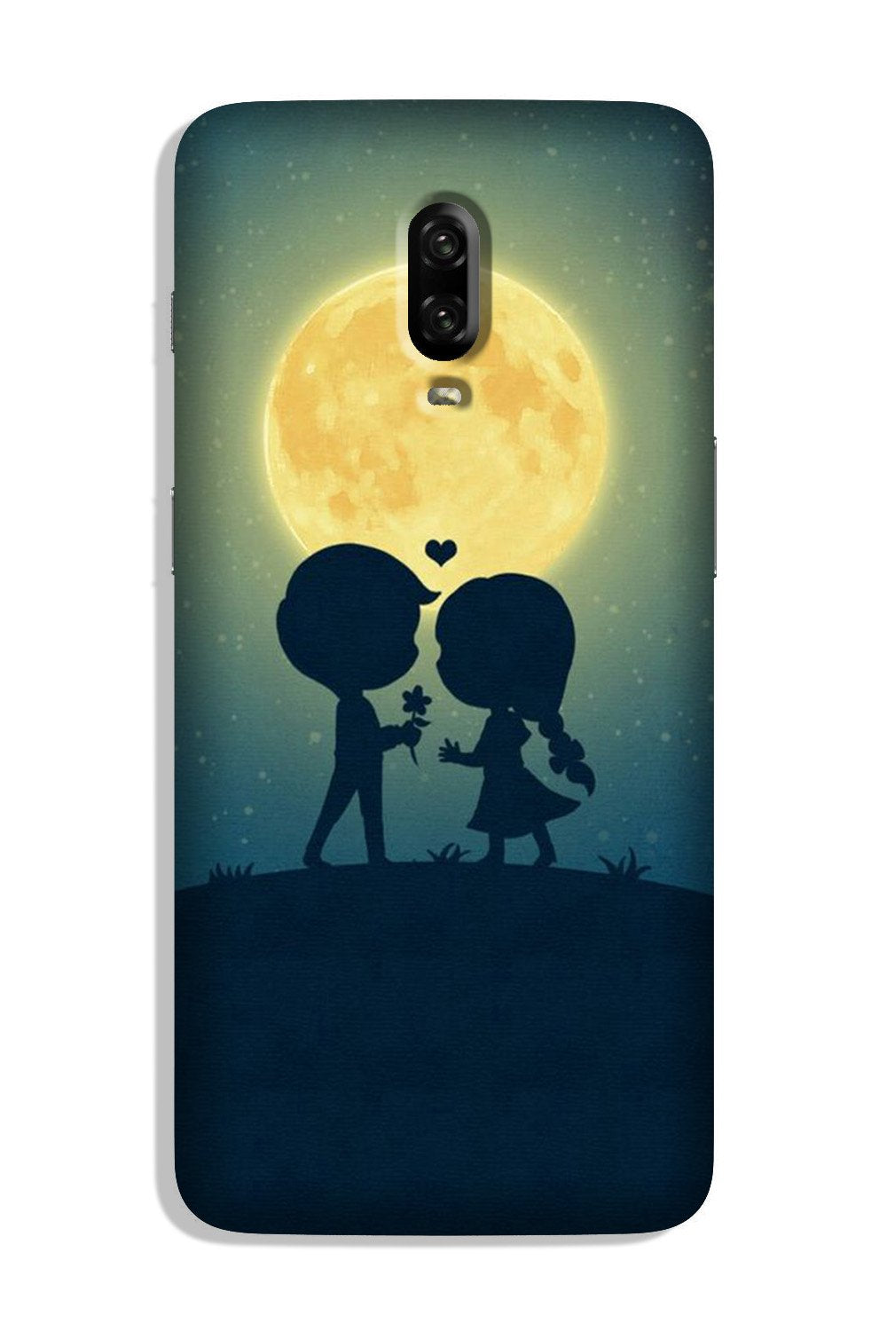 Love Couple Case for OnePlus 6T  (Design - 109)