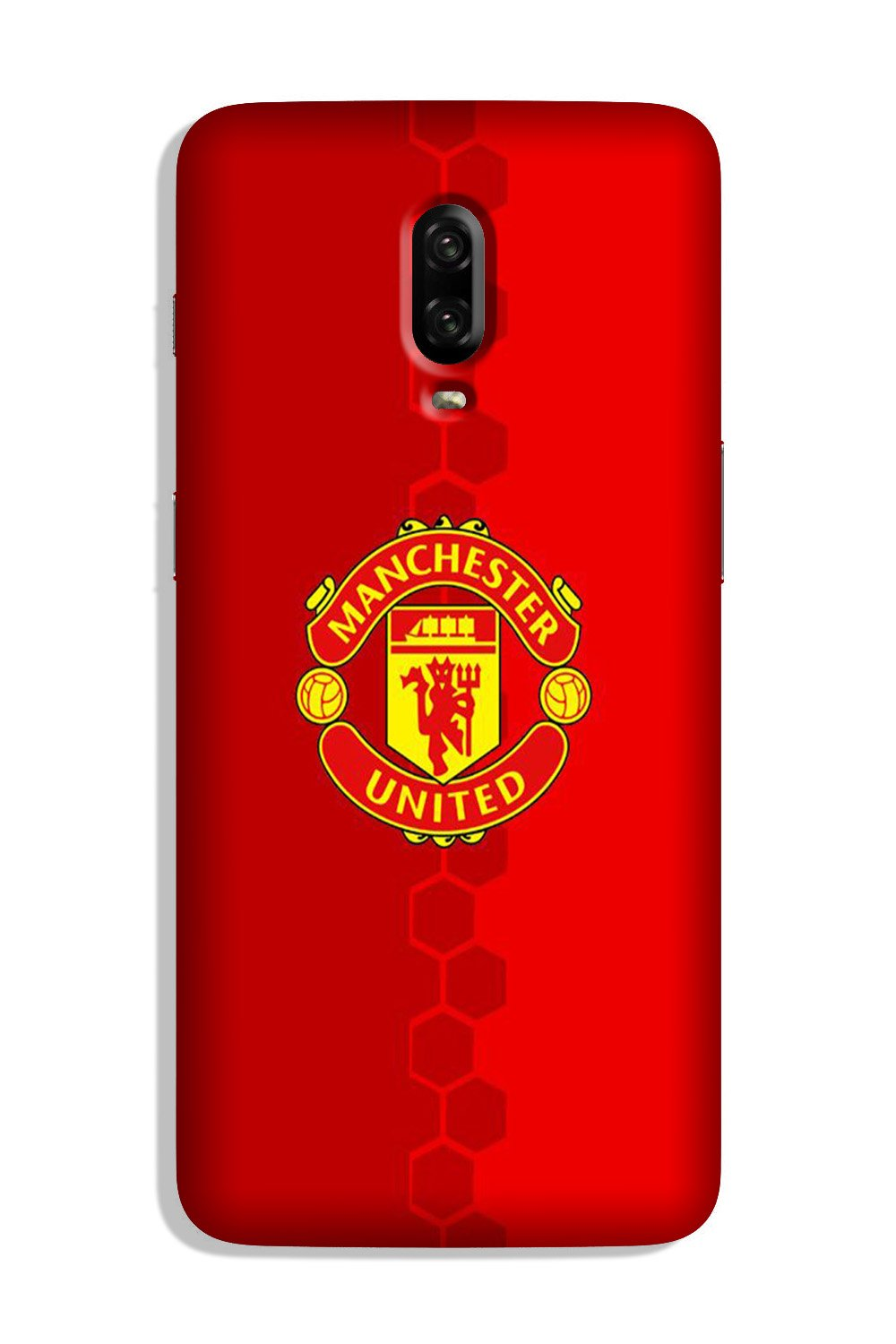 Manchester United Case for OnePlus 6T  (Design - 157)