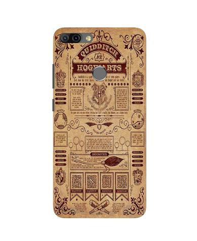 Hogwarts Mobile Back Case for Infinix Hot 6 Pro (Design - 304)
