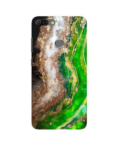 Marble Texture Mobile Back Case for Infinix Hot 6 Pro (Design - 307)