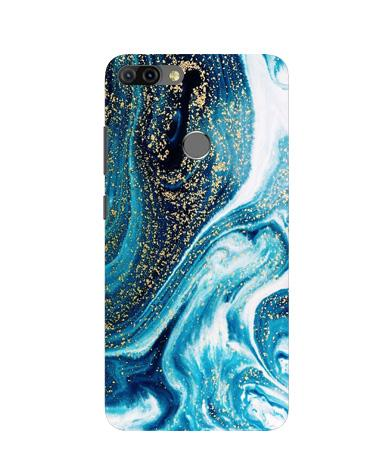 Marble Texture Mobile Back Case for Infinix Hot 6 Pro (Design - 308)