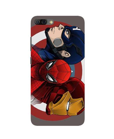 Superhero Mobile Back Case for Infinix Hot 6 Pro (Design - 311)