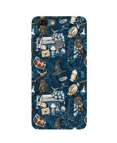 Magic Mobile Back Case for Infinix Hot 6 Pro (Design - 313)