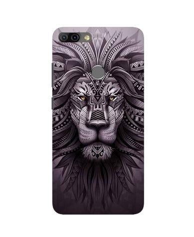 Lion Mobile Back Case for Infinix Hot 6 Pro (Design - 315)