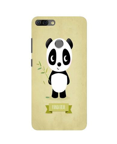 Panda Bear Mobile Back Case for Infinix Hot 6 Pro (Design - 317)