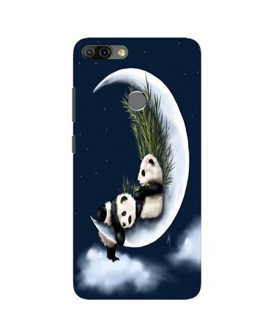 Panda Moon Mobile Back Case for Infinix Hot 6 Pro (Design - 318)