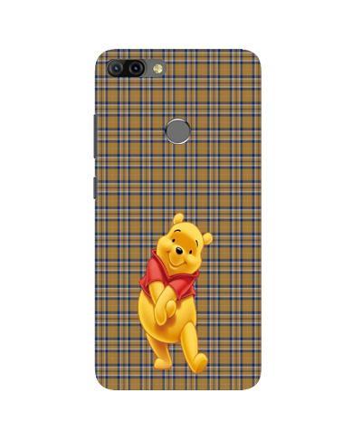Pooh Mobile Back Case for Infinix Hot 6 Pro (Design - 321)