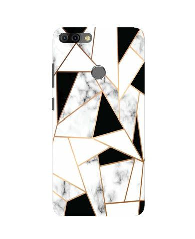 Marble Texture Mobile Back Case for Infinix Hot 6 Pro (Design - 322)