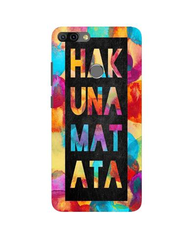 Hakuna Matata Mobile Back Case for Infinix Hot 6 Pro (Design - 323)