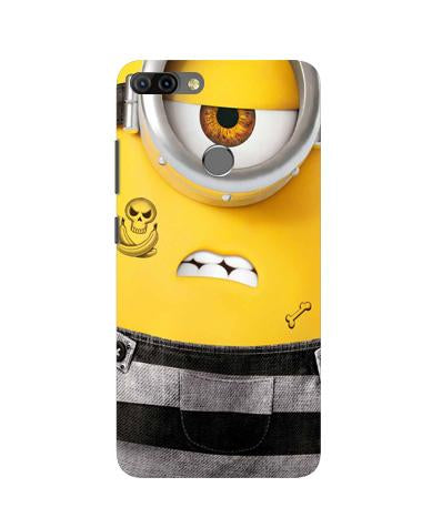 Minion Mobile Back Case for Infinix Hot 6 Pro (Design - 324)
