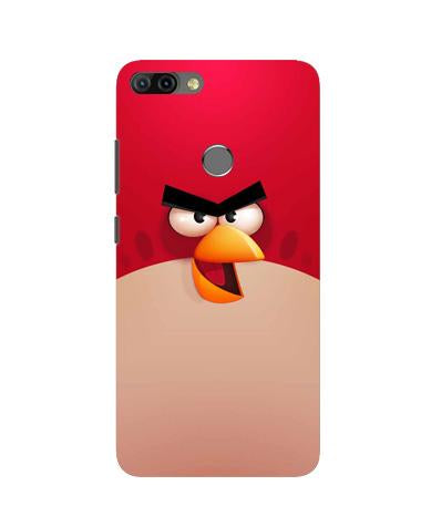 Angry Bird Red Mobile Back Case for Infinix Hot 6 Pro (Design - 325)