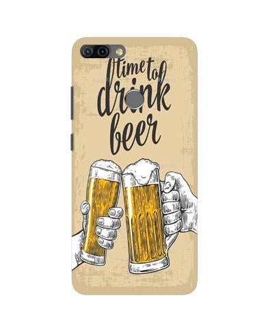 Drink Beer Mobile Back Case for Infinix Hot 6 Pro (Design - 328)