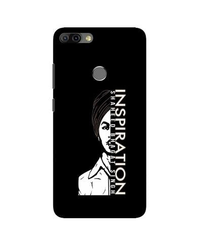 Bhagat Singh Mobile Back Case for Infinix Hot 6 Pro (Design - 329)
