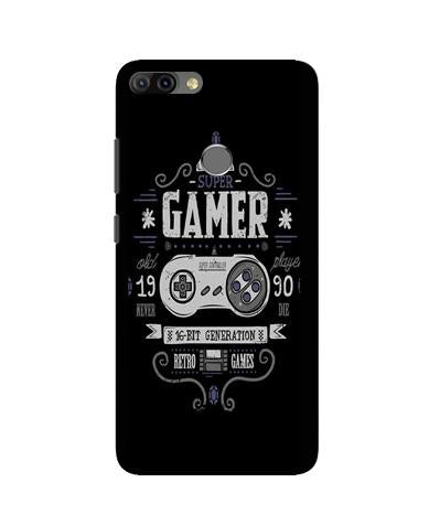 Gamer Mobile Back Case for Infinix Hot 6 Pro (Design - 330)
