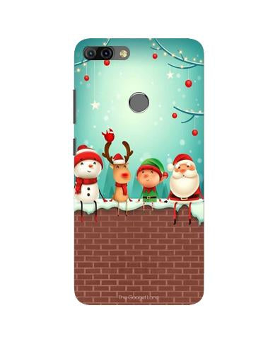 Santa Claus Mobile Back Case for Infinix Hot 6 Pro (Design - 334)