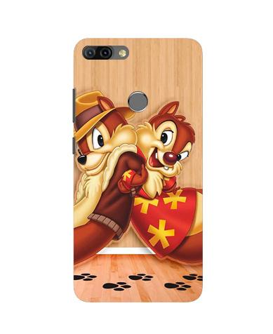 Chip n Dale Mobile Back Case for Infinix Hot 6 Pro (Design - 335)