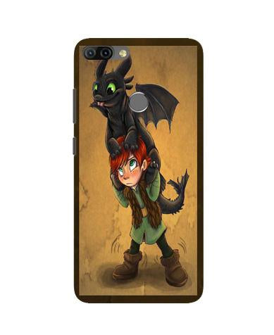 Dragon Mobile Back Case for Infinix Hot 6 Pro (Design - 336)