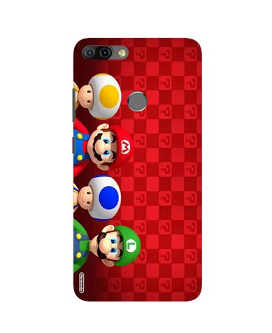 Mario Mobile Back Case for Infinix Hot 6 Pro (Design - 337)