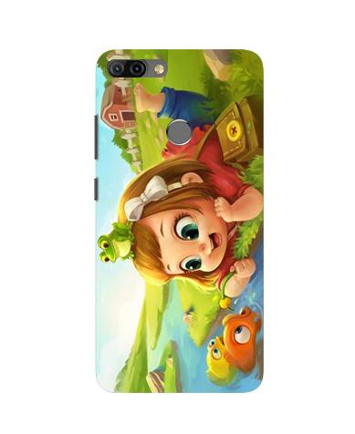 Baby Girl Mobile Back Case for Infinix Hot 6 Pro (Design - 339)