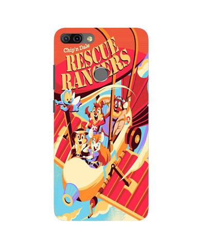 Rescue Rangers Mobile Back Case for Infinix Hot 6 Pro (Design - 341)