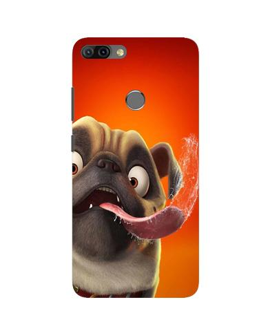 Dog Mobile Back Case for Infinix Hot 6 Pro (Design - 343)