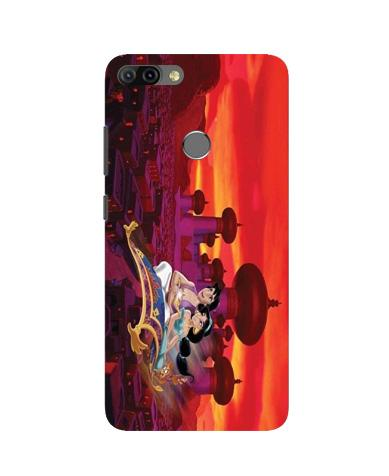 Aladdin Mobile Back Case for Infinix Hot 6 Pro (Design - 345)