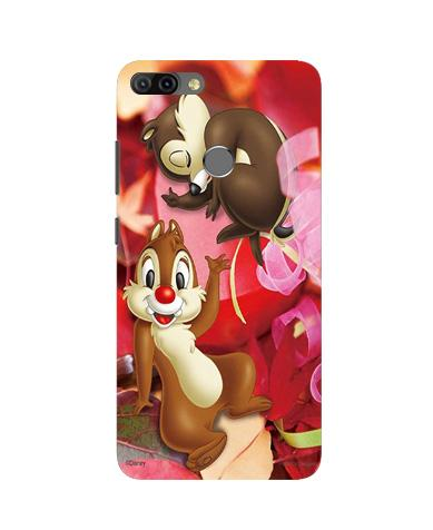 Chip n Dale Mobile Back Case for Infinix Hot 6 Pro (Design - 349)
