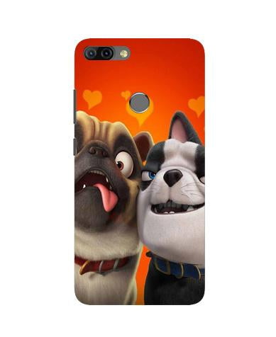 Dog Puppy Mobile Back Case for Infinix Hot 6 Pro (Design - 350)