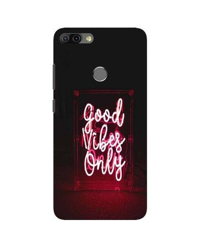 Good Vibes Only Mobile Back Case for Infinix Hot 6 Pro (Design - 354)