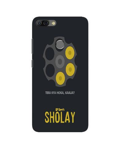 Sholay Mobile Back Case for Infinix Hot 6 Pro (Design - 356)