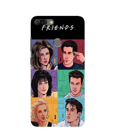 Friends Mobile Back Case for Infinix Hot 6 Pro (Design - 357)