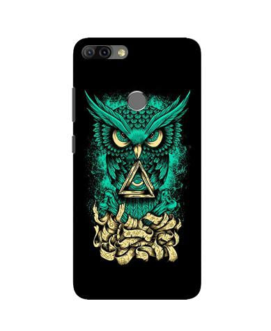 Owl Mobile Back Case for Infinix Hot 6 Pro (Design - 358)