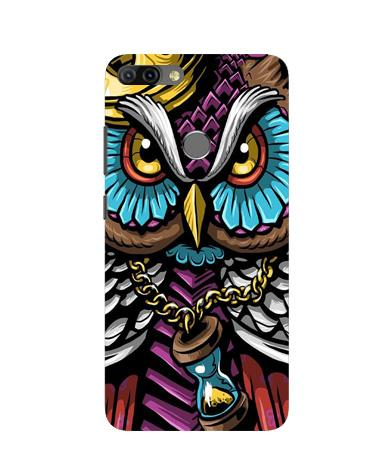 Owl Mobile Back Case for Infinix Hot 6 Pro (Design - 359)