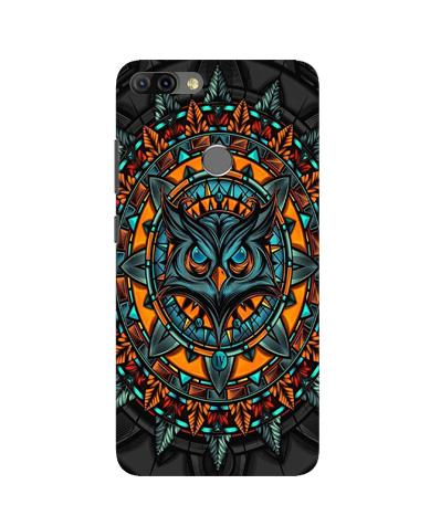 Owl Mobile Back Case for Infinix Hot 6 Pro (Design - 360)