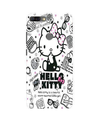 Hello Kitty Mobile Back Case for Infinix Hot 6 Pro (Design - 361)