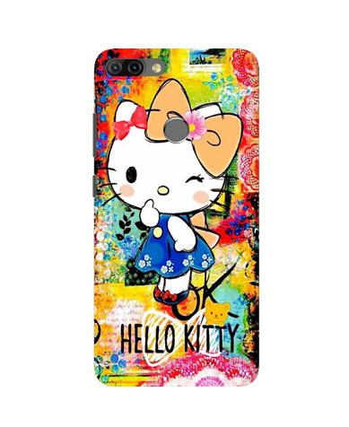 Hello Kitty Mobile Back Case for Infinix Hot 6 Pro (Design - 362)