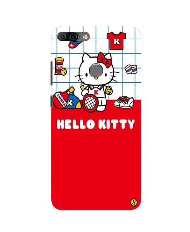 Hello Kitty Mobile Back Case for Infinix Hot 6 Pro (Design - 363)