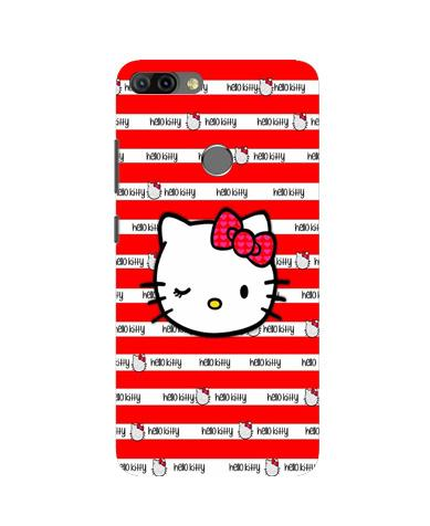 Hello Kitty Mobile Back Case for Infinix Hot 6 Pro (Design - 364)