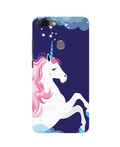 Unicorn Mobile Back Case for Infinix Hot 6 Pro (Design - 365)