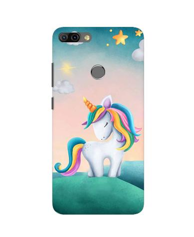 Unicorn Mobile Back Case for Infinix Hot 6 Pro (Design - 366)